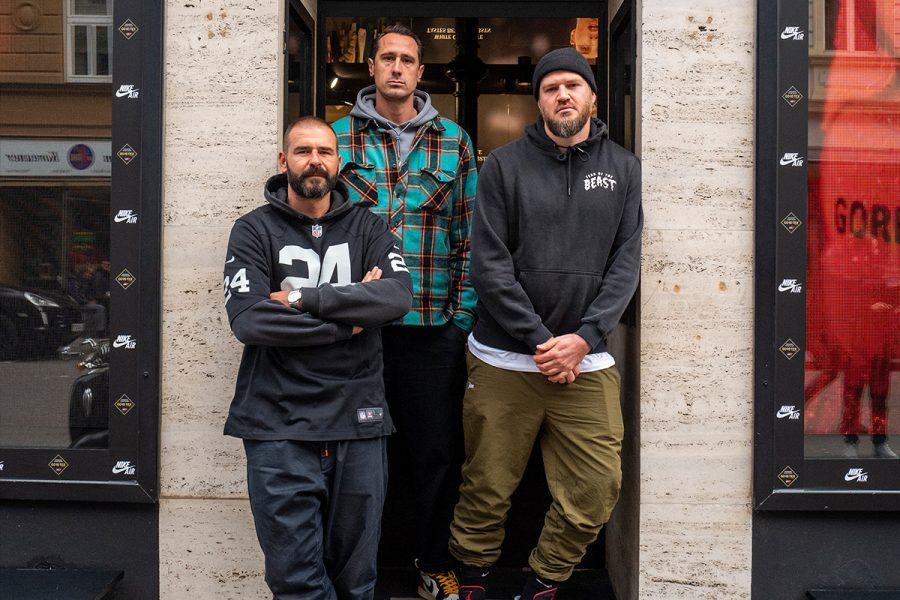 BSTN Fathers: Rob, Duki, Fu