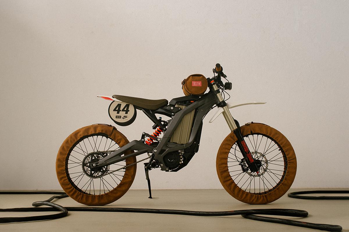BSTN's Sur-Ron Firefly AMD custom e-bike for Nike Air Max Day