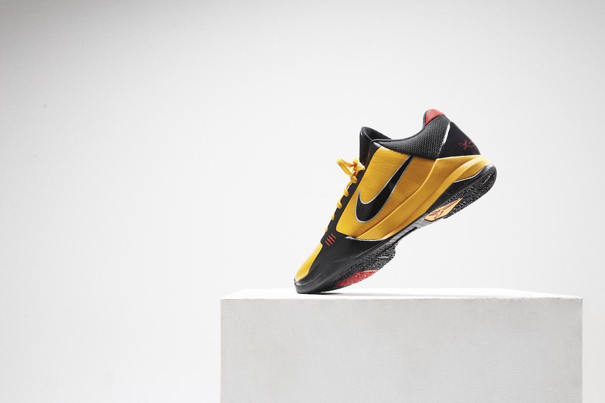 The Nike Kobe V Protro Bruce Lee releases at BSTN on Friday, November 27th.